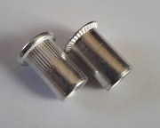 Aluminium Rivet Nut (Countersunk or Flat Head)
