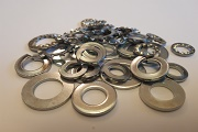 """SPRING WASHERS-IMPERIAL RECTANGULAR Z//P 3//16/"""" QTY 1000"""